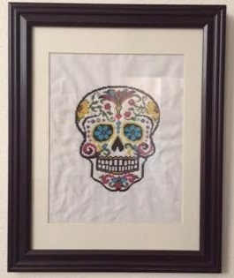 Sugar Skull Framed